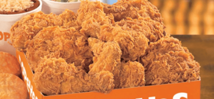 Popeyes Chicken Dinners & Combos
